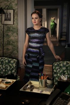 """GOSSIP GIRL-- """"Where The Vile Things Are"""" -- image GO606B_0150 Pictured: Leighton Meester as Blair Waldorf -- Photo: Giovanni Rufino/The CW -- © 2012 The CW Network. All Rights Reserved."""