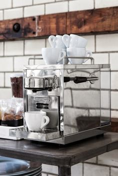 Coffee maker from Granit