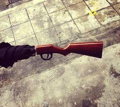 Rifle Umbrella – $28