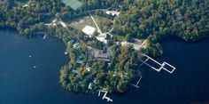 """Meatballs,"" Haliburton, Canada The ultimate summer camp comedy, which helped make Bill Murray a star, was filmed at several real summer camps, including Camp White Pine in Haliburton, Ontario, Canada."