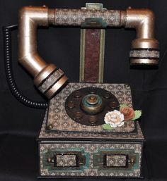 Vintage Telephone - Scrapbook.com