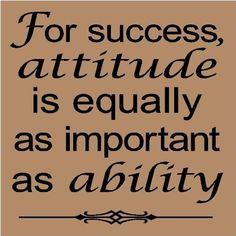 success and attitude