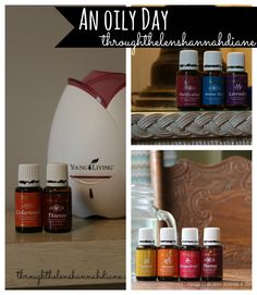 How we use our oils every day!