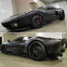 Ford GT with a Magnificent Matte Black Finish for an Amazing car!