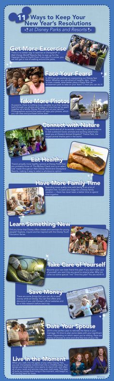 11 Ways to Keep Your New Year's Resolutions at Disney Parks and Resorts. Click the image to visit Babble for more ideas!