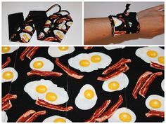 CrossFit Wrist Wraps - Eggs and Bacon