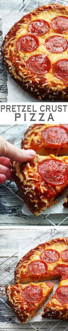pretzel pizza crust
