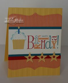 kids card Stampin' Up!