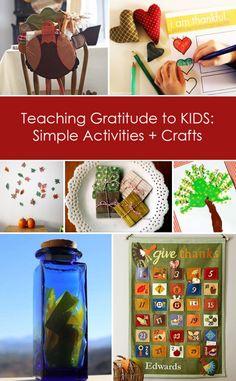 Teaching Gratitude to KIDS: Simple Activities + Crafts via Let's Lasso the Moon