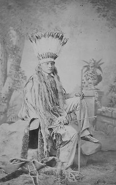 White Buffalo (Cheyenne), Carlisle Indian School, via Flickr.