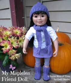 Take a closer look at Stacey a My Maplelea Friend Doll.