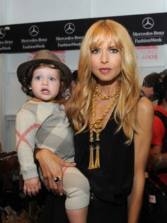 Rachel Zoe and her son, Skyler
