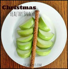 Christmas Healthy Snacks for Kids By Sugar Aunts