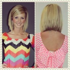 Cute stacked cut.