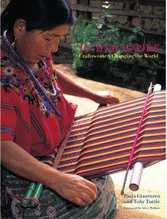 woman in guatemala weaving