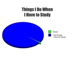 How to study for finals. -D