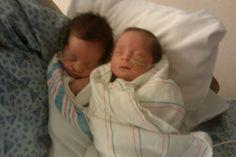 Ava & Audrey my twins born July 26, 2010