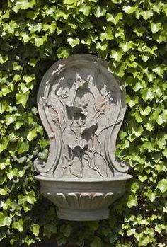 Winding Vine Wall Fountain