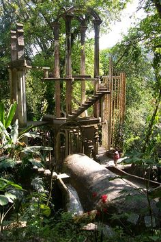 Las Pozas....xilitla rainforest, mexico