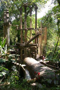 Las Pozas....xilitla rainforest, mexico