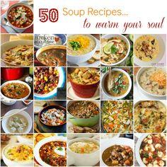 50 Soup Recipes to W