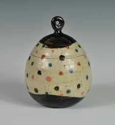 Lidded container by Mark Smalley, via Flickr