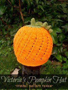 Victoria's Pumpkin Hat – pattern review