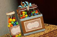 Frappucino bottles bottle crafts, teacher gifts, starbuck bottl, alter goodi, jar gifts, gift jars, gift idea, candy jars, candied pecans