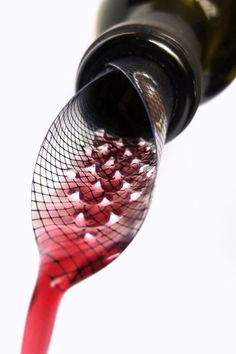 Soft aerating pourer #wine #accessories
