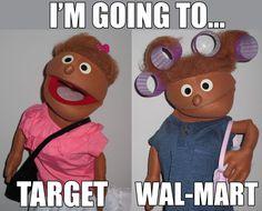 Going To Target Vs Walmart - NoWayGirl