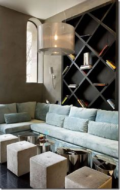 large bookcase - or wine rack
