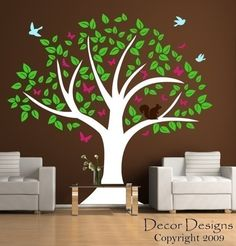 Woodland Tree decal