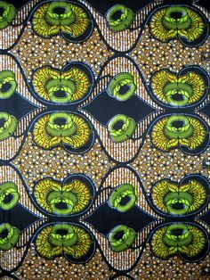 an African style pattern