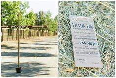 Farm Chic Wedding