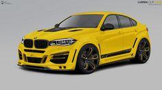 BMW X6 by Lumma Design  1