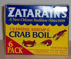 Zatarain's - Shrimp, Crawfish and Crab Boil