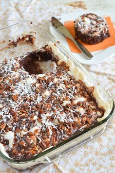 Mississippi Mud Cake 4 by Seeded at the Table, via Flickr
