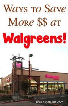 9 Easy Tips to Save More Money at Walgreens! ~ at TheFrugalGirls.com ~ simple tricks to score deals on makeup beauty, photo and more! #coupons #couponing #thefrugalgirls