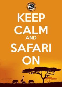 Keep Calm and Safari On