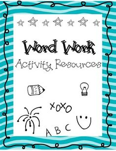 This a wonderful!!!!! So many creative activities for a Word Work center! (not just spelling)  No additional resources either. Easy and lovin' it!