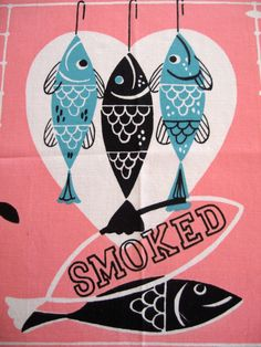 Vintage kitchen towel.