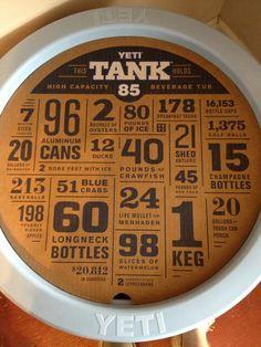 Yeti cooler tank raffle from Fish Tales Alexander City, Al