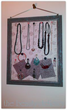 diy jewelry board
