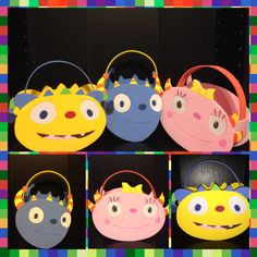 henry hugglemonster  Inspired party bags favors by funpartycrafts,