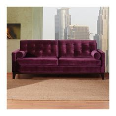 Purple couch ?
