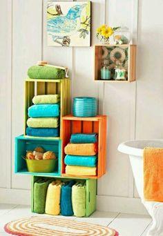 Decoración del baño con colorido total   Decoración 2.0