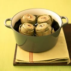 Steaming Artichokes Recipe