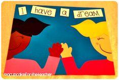 A Cupcake for the Teacher: I Have a Dream {Craftivity & Printables for MLK, Jr.}