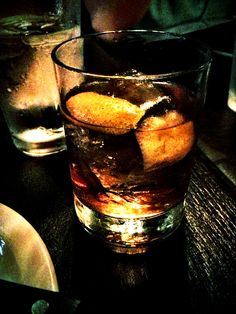 Bacon infused Old Fashioned from the Iberian Pig in Atlanta. My favorite drink of all time.