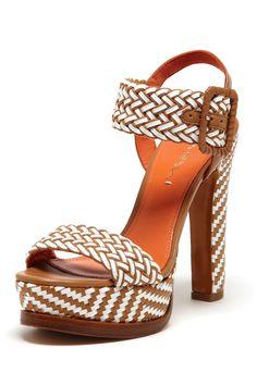 Georgette Woven Sandal